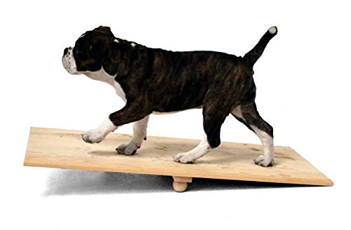 SAUERLAND Holz-Wippe für Welpen 60 cm lang, 60x40x10cm, Hundespielzeug, Hundesport