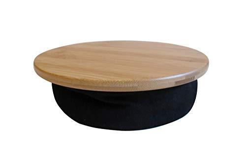 MOJO Beanbag Mousepad – Ergonomisches, bequemes Mauspad für Sofa, Bett, Schoß, Couch und überall sonst (Bambusholz)