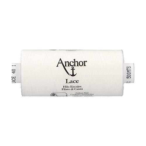Anchor Fil De Dentelle Au Fuseau Lace, épaisseur: 40, Longueur du Canon: 500m 1, 3cm x 3cm x 7cm