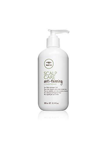 Paul Mitchell Tea Tree Scalp Care Anti-Thinning Conditioner - feuchtigkeitsspendende Haar-Kur ideal für dünner werdendes Haar, belebende Spülung mit Ginseng, 300 ml