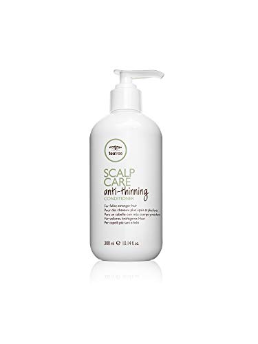 Paul Mitchell Tea Tree Scalp Care Anti-Thinning Conditioner - feuchtigkeitsspendende Haar-Kur ideal für dünner werdendes Haar, belebende Spülung mit Ginseng, 300 ml