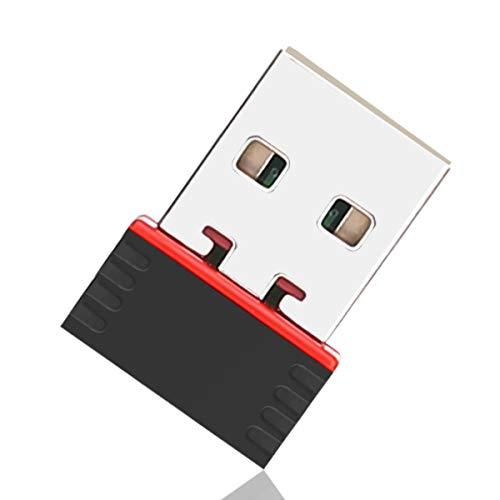 LIVLOV V5 ANT+ Adaptador de Dongle Receptor Transmisor de USB Tamaño Mini para Garmin Sunnto Zwift TacX Bkool PerfPRO Studio CycleOps Virtual Trainer TrainerRoad