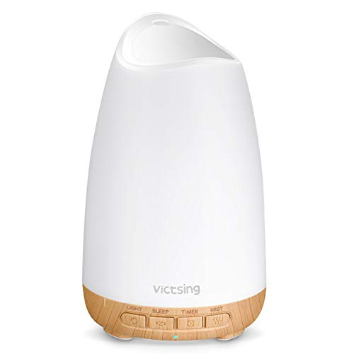 VicTsing 150ml Essential Oil Diffusers for Aromatherapy, Quite Diffuser...