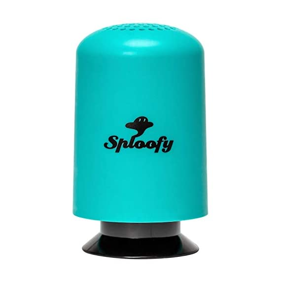 "Sploofy original - personal smoke air filter - replaceable cartridge 1 sploofy v3 ""supermax"" industry leading filter capacity (300-500 total uses) eco-friendly cartridges (biodegradable filter housing)"