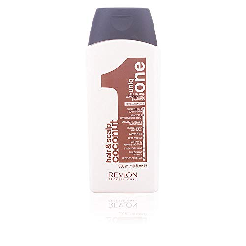 REVLON PROFESSIONAL Uniq All In One Coconut Conditioning Shampoo, 1er Pack (1 x 300 ml)