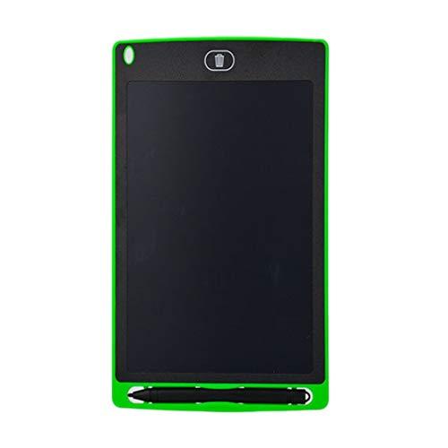 Nrew 8,5 Pulgadas de Escritura Creativa Tableta de Dibujo Bloc de Notas Digital LCD tableros gráficos Verde