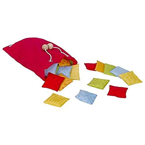 Goki Tactile des coussins-Mémo-20 pièces, 56828, Multicolore