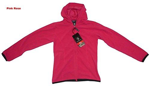 First B Kids Fleece Jacke Francisca JR 176, pink Rose (411)