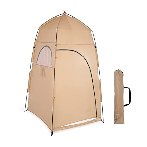 HUATAO HUAYU Automatischer Campingzelt Strandzelt Instant Pop Up Open 2 Personen Zelt Anti Uv. Markisenzelte im Freien Sonnenhelfer Schiff von Ru cz. (Color : Yellow)