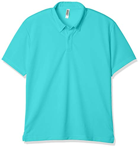 [グリマー] 半袖 4.4オンス ドライ ボタンダウン ポロシャツ [ポケット無] ミントブルー 日本 SS (-)