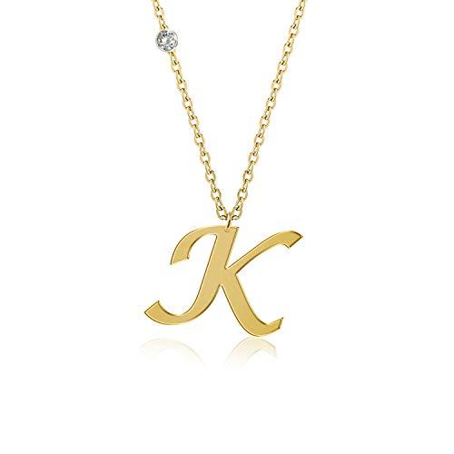 demasgold Niños Hombre Mujer Unisex 18 quilates plata chapada de oro de 18 quilates talla princesa blanco raro +/wesselton superior f Diamond