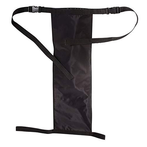 UPKOCH Sauerstofftankhalter für Rollstuhltransport Rollstuhl Hängetaschen Tasche mit Verstellbaren Trägern (Schwarz)