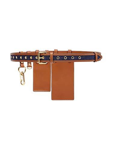 Luxury Fashion | Fendi Dames 8C0593A9P2F1A18 Bruin Leer Riemen | Lente-zomer 20