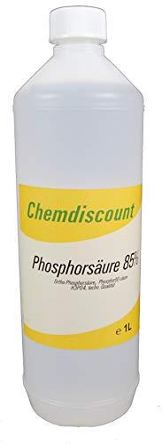 1Liter (ca. 1,6kg) Phosphorsäure (H3PO4) 85%