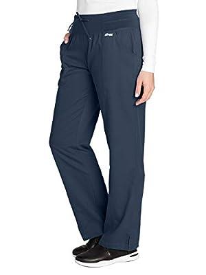 Grey's Anatomy Active 4276 Yoga Pant Steel M Petite