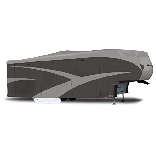 "ADCO 52256 Designer Series SFS Aqua Shed 5th Wheel RV Cover - 34'1"" - 37' ,Gray"