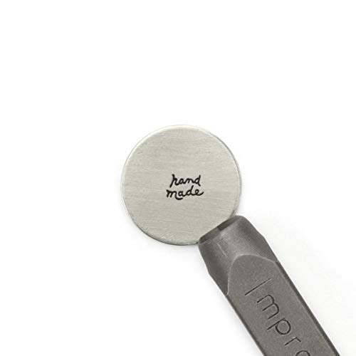 ImpressArt -'Hand Made' Signature Metal Design Stamp, 6mm