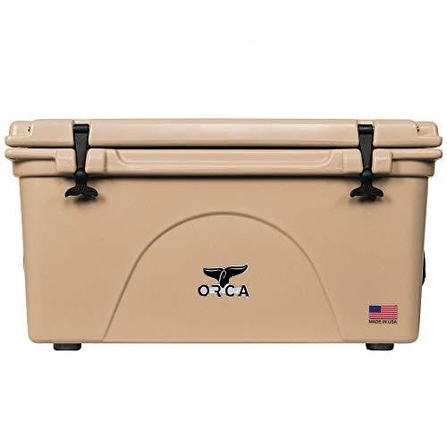 ORCA Cooler 75 Quart with Lid Gasket in Tan