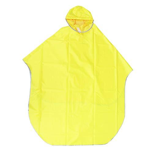 Abaodam Impermeable de la bici impermeable capa con capucha poncho al aire libre azul marino bicicleta motocicleta ciclismo chaqueta movilidad scooter cubierta