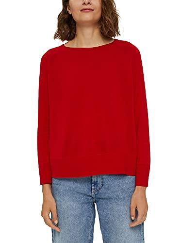 ESPRIT Pullover aus 100% Baumwolle