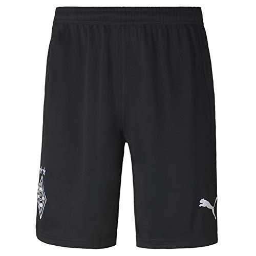 PUMA Borussia Mönchengladbach Away Replica Shorts (S, Black/White)