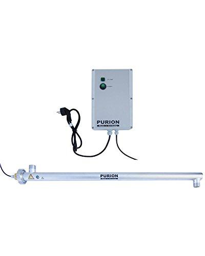 PURION 2500 36W UVC-Anlage Trinkwasseraufbereiter bis 2.500 l/h UV-Licht (PURION 2500 36W Basic)