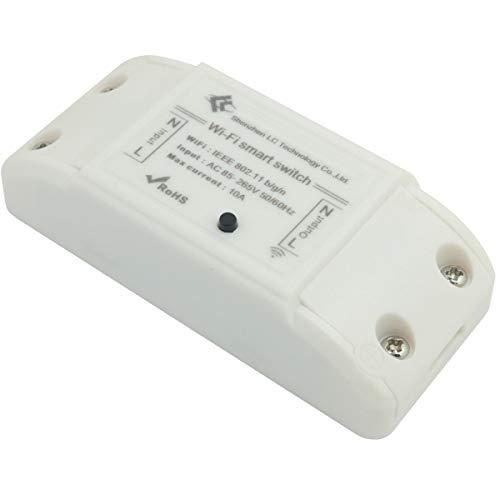 DollaTek Smart Home Wifi Switch Aplicación para teléfono móvil Control remoto inalámbrico Control remoto Interruptor de tiempo Lámparas y linternas eléctricas Instalación general