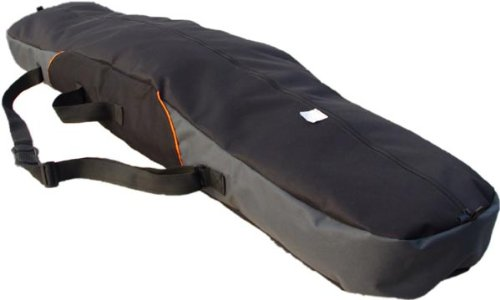 Witan SNOWBOARDTASCHE Snowboard Tasche Boardbag 155 / 165cm RIBUT (165cm, 2 - Schwarz Grau)