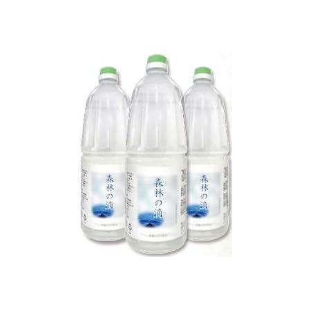 ヒバ水 蒸留水 (1.8L×3本):詰め替スプレーボトルプレゼント!