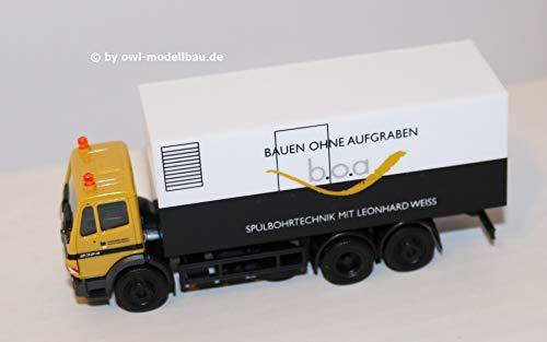 Herpa 936101 Mercedes Benz Koffer LKW SK'94 Leonhard Weiss