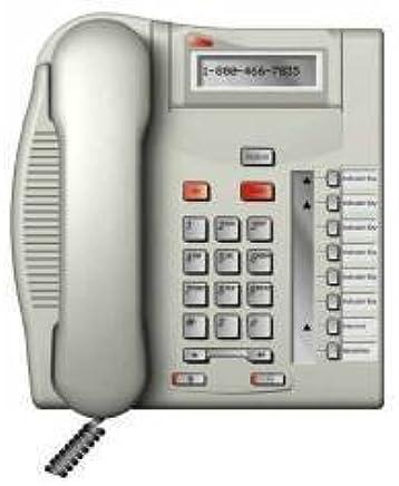 Amazon com : Norstar T7208 Telephone Platinum : Corded