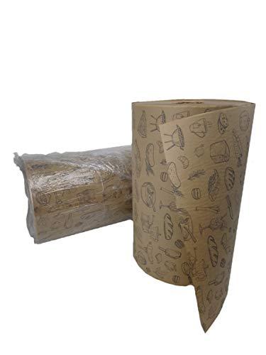Pack&Cup Rollenpapier, Einschlagpapier, Bäckerseide Food-Kraft 35 cm. 10 Kg.