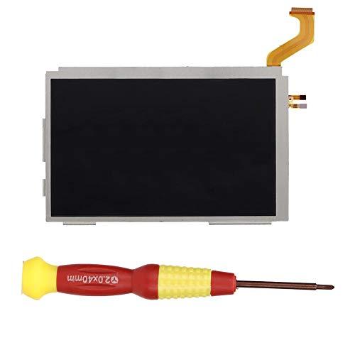 Ersatzteil LCD Bildschirm Oben für Nintendo 3DS XL, DIY Reparatursatz 1 * Ersatzbildschirm und 1 * Schraubendreher