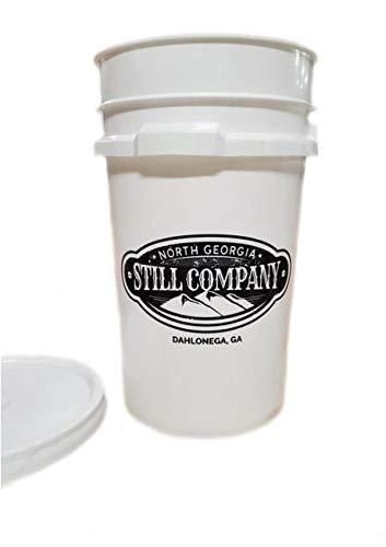 North Georgia Still Company's 7 Gallon Fermentation Bucket with Double Bubbler