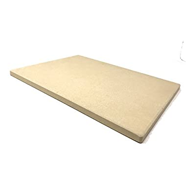 Aura Outdoor Products Rectangle Pizza Stone - Great for Gas Grills and ovens!
