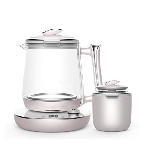 Taoyouzj Teekessel Multifunktions-Wasserkocher Termin Timing-Isolierung Porridge 1.5L Edelstahl elektrische Gesundheit Pot Kettle (Color : Deerma DEM YS203)