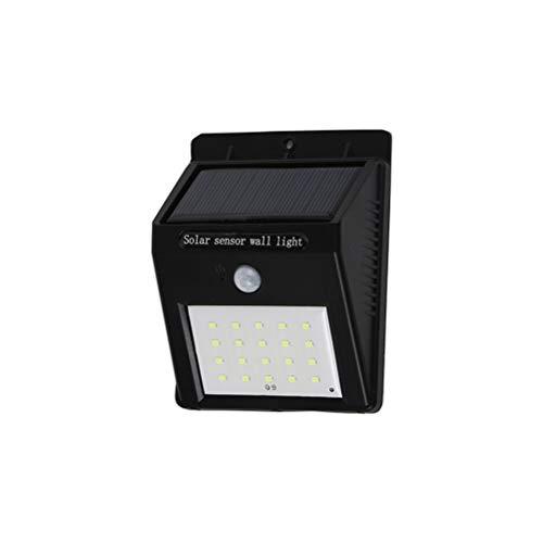 Yaobuyao Solar Bewegungsmelder Licht, 30 LED Dämmerung Bis Morgendämmerung Außenlicht, Außenlicht Bewegungsmelder, IP65 Wasserdicht Für Hof, Garage, Garten, Terrasse, Deck