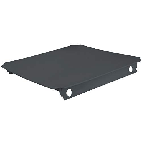 TikTakToo Moveandstic Platte 40x40 oder 40x20 oder Stoff (40x40cm, titangrau)
