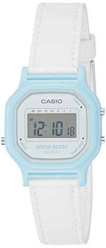 Orologio da polso Casio casual digitale al quartz nuovo originale LA-11WL-2A