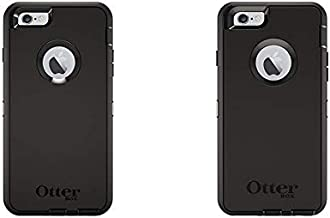Otterbox Defender iPhone 6 Plus/6s Plus Case - (NOT Compatible with iPhone 6/6s) - Retail Packaging - Black & Defender iPhone 6/6s Case - Frustration Free Packaging - Black