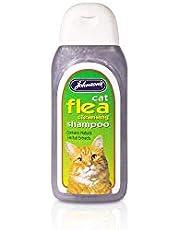 Johnsons Veterinario Gato pulgas Champú de Limpieza, 125ml