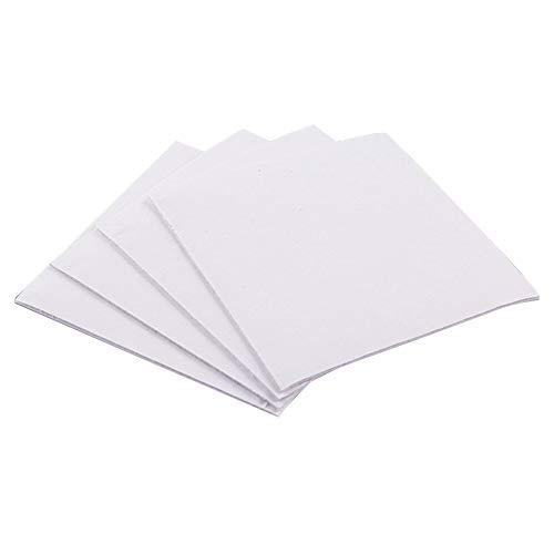 Dengofng Teppich-Greifer, Anti-Surling-Pad, Silikon, rutschfest, wiederverwendbar, nicht Stoff, waschbar, Abziehbar, quadratisch, 4 Stück