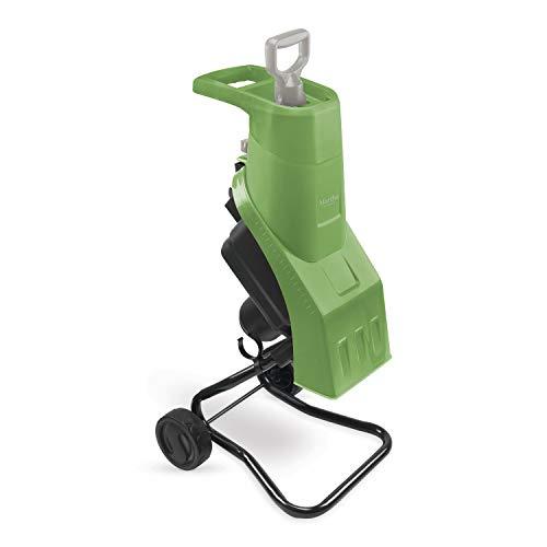 Martha Stewart 15-Amp 17:1 Reduction Ratio Self-Feeding Electric Wood Chipper, Bay Leaf Green