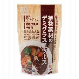 創健社 植物素材のデミグラス風ソース 120g×3個          JAN:4901735021260