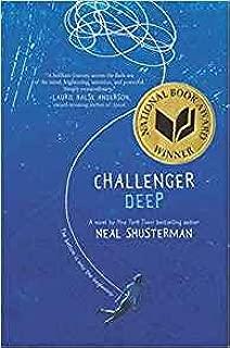 by Brendan Shusterman - Challenger Deep (Golden Kite Awards) (Hardcover) HarperTeen; 1st Edition Edition (April 21, 2015) - [Bargain Books]