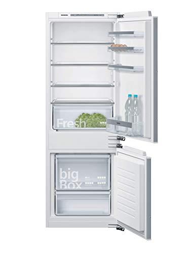 Siemens KI77VVFF0 iQ300 Einbau-Kühlgefrierkombination / F / 260 kWh/Jahr / 232 l / lowFrost / Big Box / LED Beleuchtung