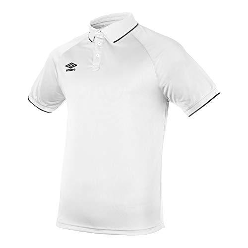 UMBRO Herren Polo Shirt Torch L weiß