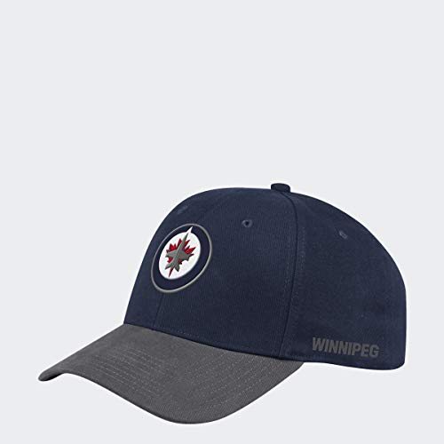 adidas Winnipeg Jets 2019/20 NHL Coach Flex Fit NHL Cap, L/XL