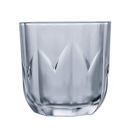 QLTY Vaso de Vidrio,Jarras de Cerveza,Vaso de Whisky de Vidrio Grueso sin Plomo,Vaso de Cerveza de Cristal,Vaso de Alcohol,Vaso de cóctel,Vasos de chupito