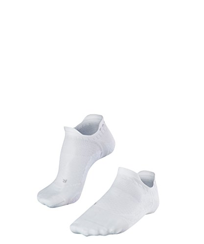 FALKE Damen GO5 Invisible W IN Golfsocken, Weiß (White 2000), 39-40 (UK 5.5-6.5 Ι US 8-9)